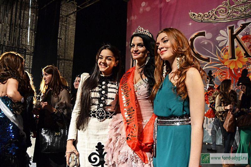 Финал конкурса Мисс-КБР-2012 Фото Дарьи Шомаховой.
